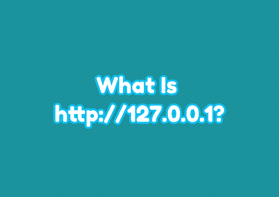 What Is http://127.0.0.1?